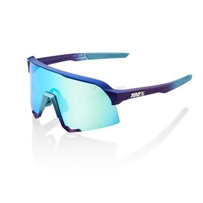 S3 - Matte Metallic - Blue Topaz Mirror