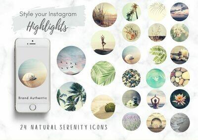 24 Serenity Instagram Highlight Covers
