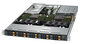 10x NVMe Server 1x AMD _________________________ SUPERMICRO SuperServer