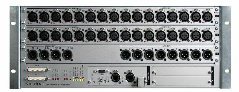 Soundcraft Stagebox VI CSB RJ45