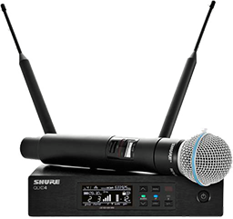 Shure QLXD 24 avec micro SM ou Bêta 58A