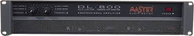 Master Audio DL800 - 2 x 400W / 4 ohm