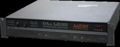 Master Audio DL1200 - 2 x 600W / 4 ohm