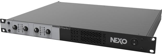 Nexo DTD AMP 1.3 - 4 x 1300W / 4 ohm