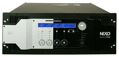 Nexo NX AMP 4x4 v (DSP + Dante) - 4 x 4000W / 2 ohm
