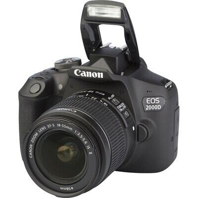 Canon EOS 2000D + objectif 18 - 55mm
