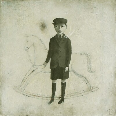 Dream About White Rocking Horse