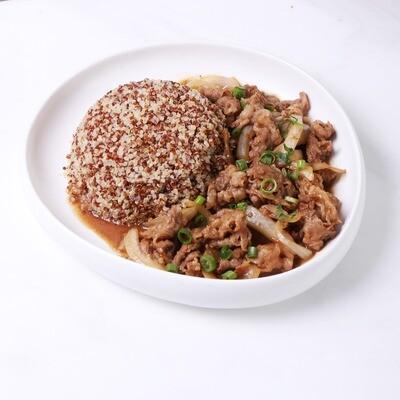 Korean Beef Bulgogi Quinoa Rice