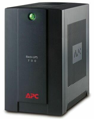 APC BACK-UPS 700VA 230V AVR, IEC SOCKETS