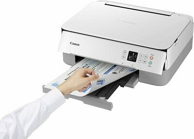 CANON PIXMA TS5351 AIO WIFI WHITE PRINTER