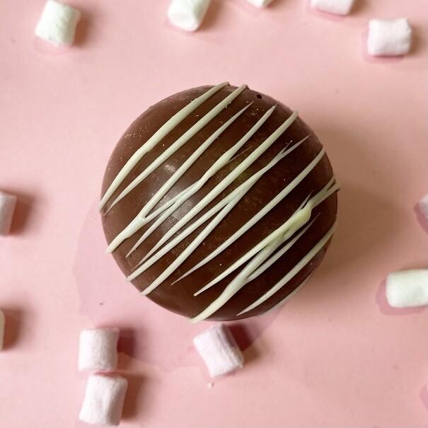 CHOCOLATE BOMB choco x caramel