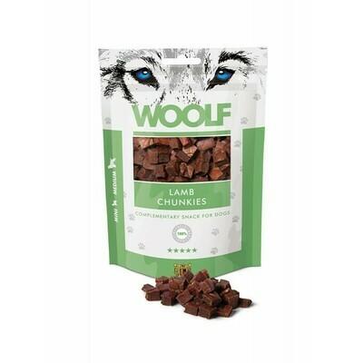 WOOLF Lamb Chunkies ėrienos skanėstai 100 g
