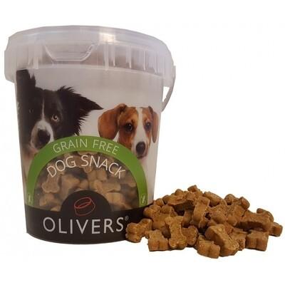 Olivers begrūdžiai skanėstai šunims