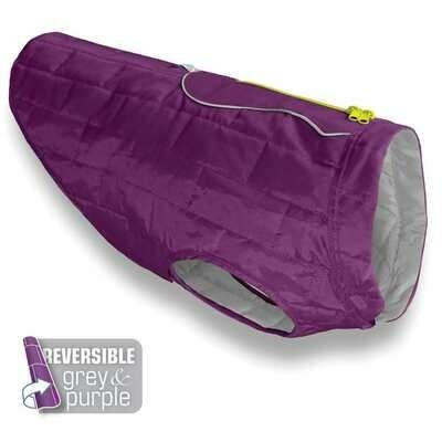 Kurgo  striukė - paltas šuniui violetinės/pilkos sp.