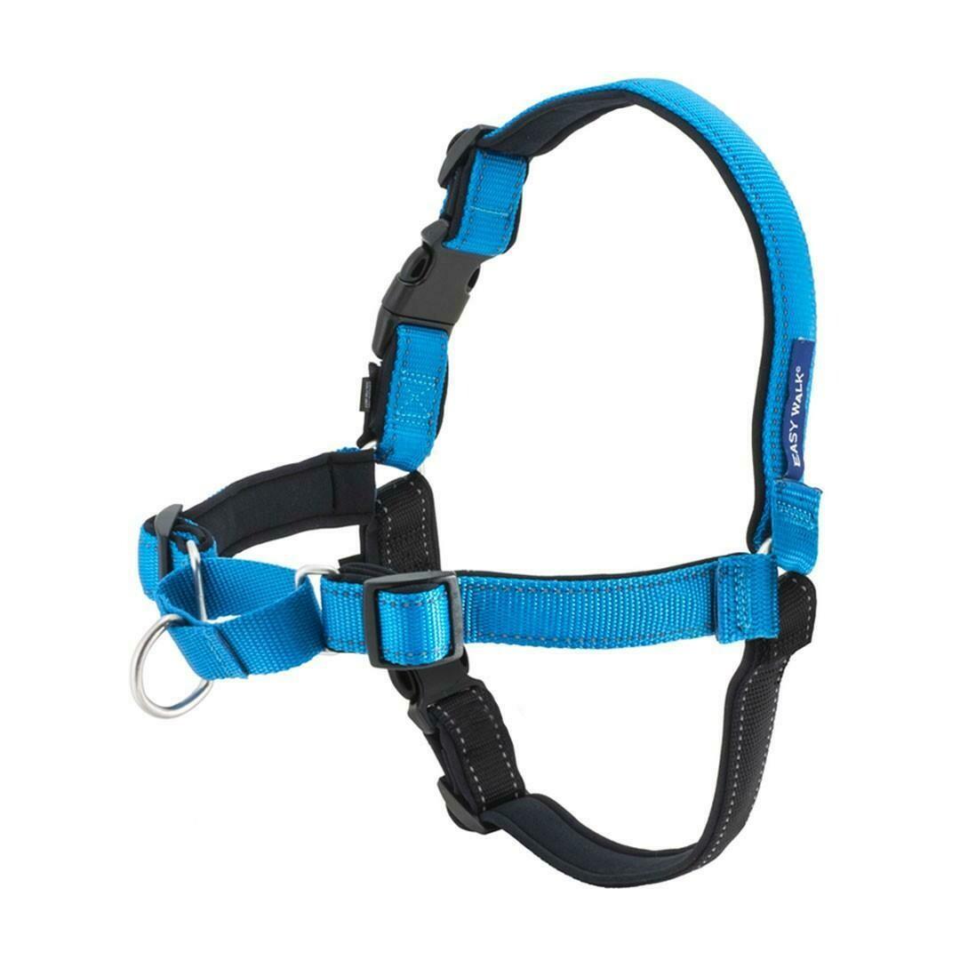 Petsafe Easy Walk® Deluxe Harness žydros petnešos su atšvaitu lengvam pasivaikščiojimui