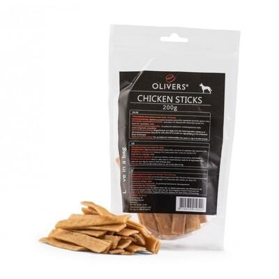 Olivers Chicken Sticks vištienos skanėstai 200g