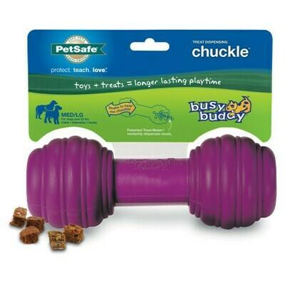 Petsafe Busy Buddy Chuckle guminis cypsintis kaulas