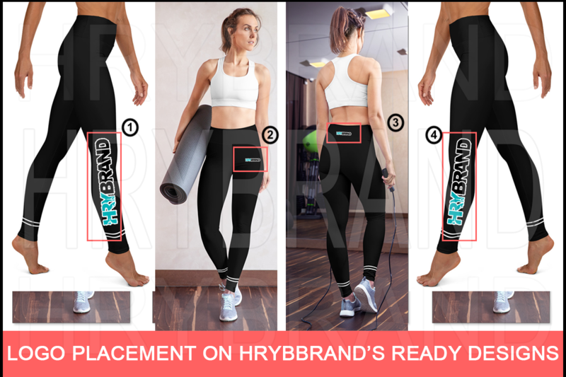 I Will Place Logo on HRYBRAND's Ready Design