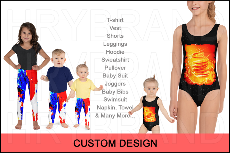 I Will Create Custom Pattern, Texture, Seamless, Graphics. Designs For Kids Clothing & Accessories Products