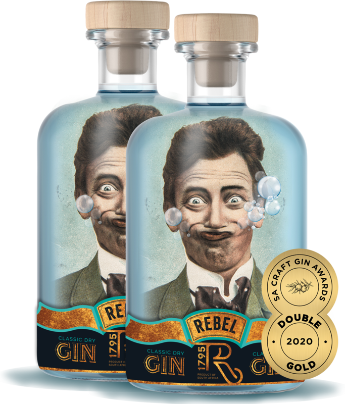 REBEL Gin (2 x 750ml)