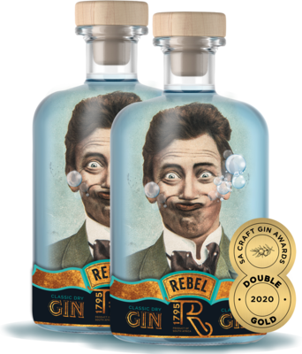 REBEL Gin (2 x 750ml)