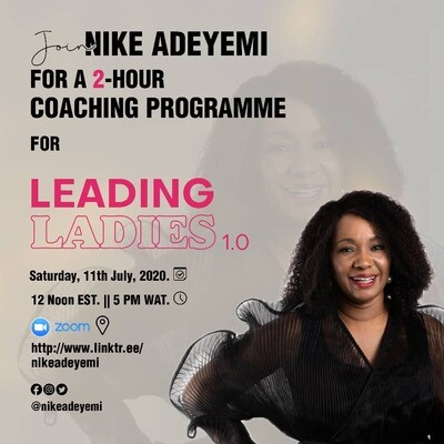 2-Hour Group Coaching Session with Nike Adeyemi