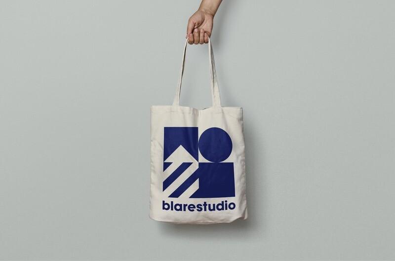 ORIGINAL blarestudio TOTE BAG
