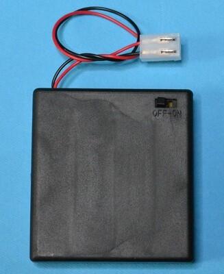 Батарейный отсек 4xAA с выключателем и соединителем