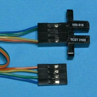 Датчик инфракрасный TCST2103 с кабелем и соединителем