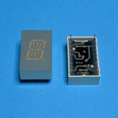 Индикатор светодиодный 16-сегментный PSA05-11SRWA