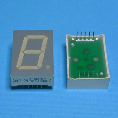 Индикатор светодиодный 7-сегментный SA10-21SRWA
