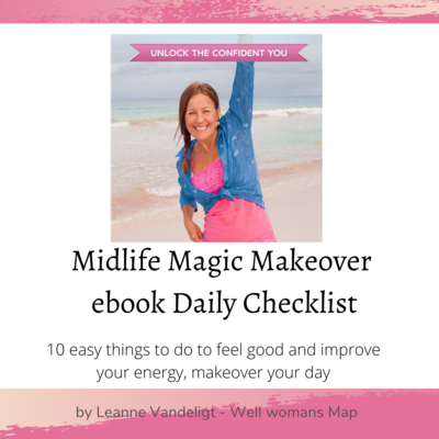 Free Ebook Midlife Magic Makeover Daily Checklist