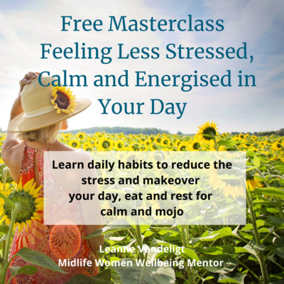 Free Masterclass - 3 Key Things You Can Do Right NOW to eliminate stress and make your day flow ....  in 5 minutes a day