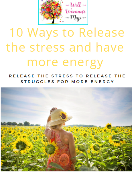 Ebook 10 Ways to Release the stress and have more energy & Free Masterclass Video