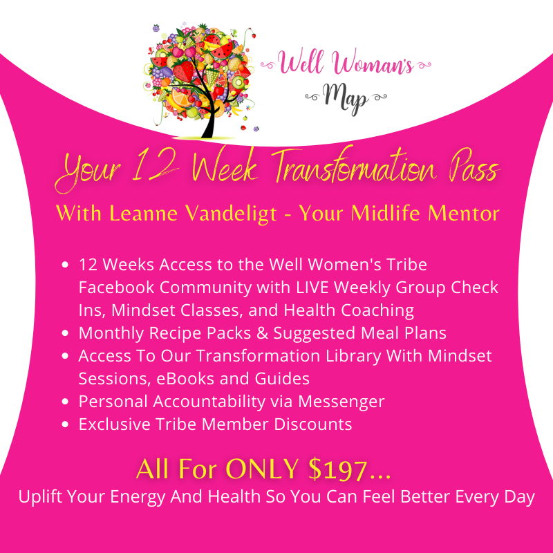 12 Week Transformation Pass The Well Woman's Tribe Group Mentoring Membership