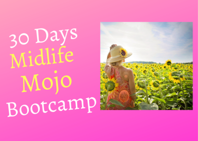 Midlife Mojo Bootcamp 30 Day Coaching Intensive