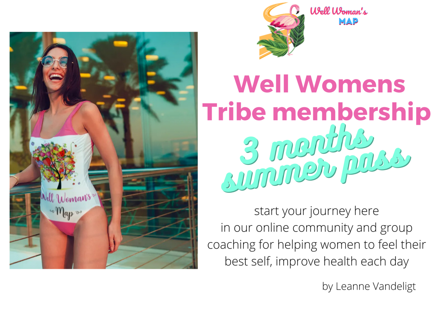 Tribe Well Womans Summer Pass 3 months group community