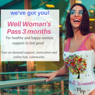 Well Womans Pass 3 months