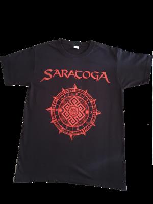 "Camiseta Manga corta ""Portada Aeternus"" Tinta Roja"