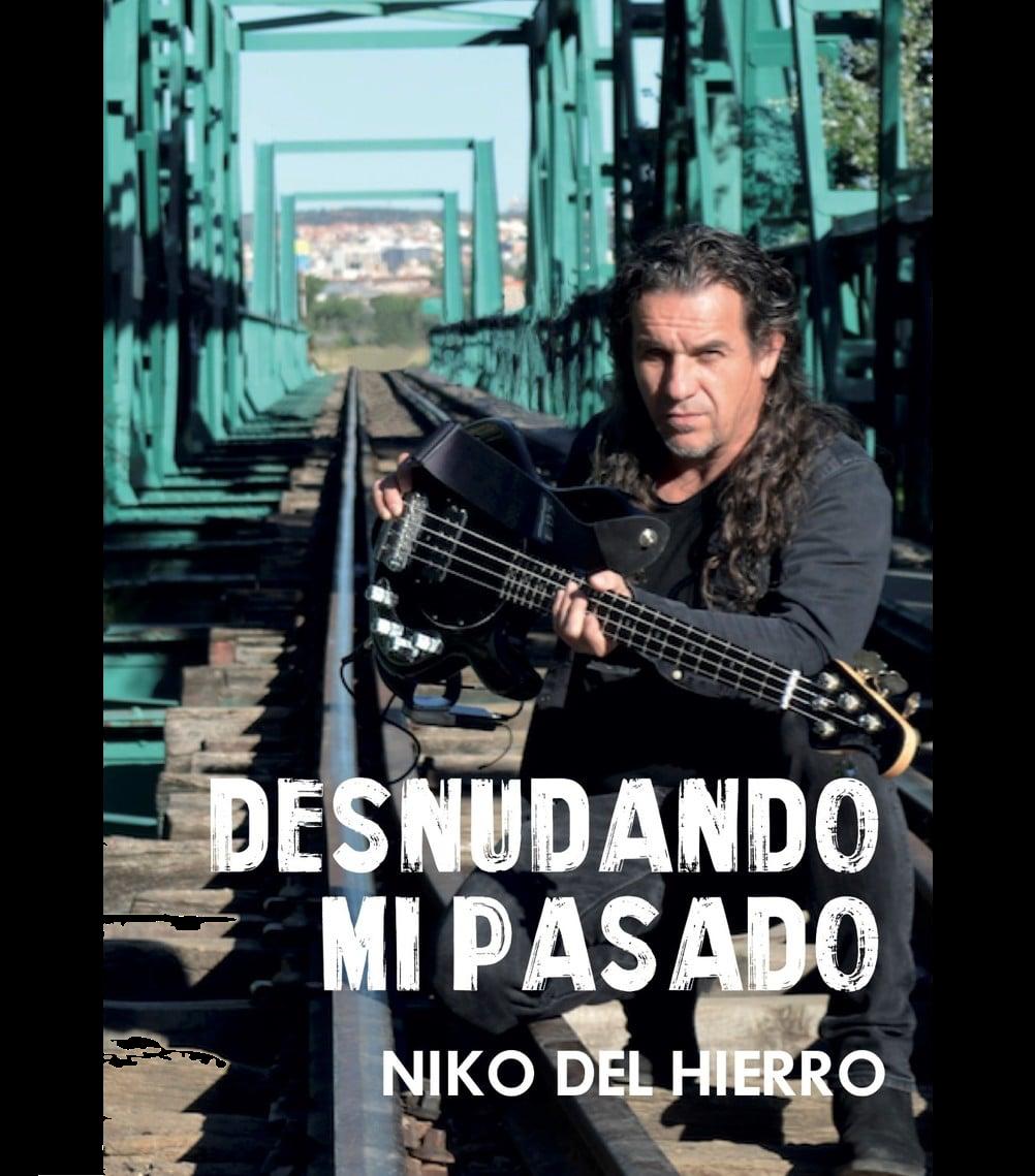 """Libro Niko Del Hierro """"Desnudando mi pasado"""" FIRMADO Y DEDICADO"""