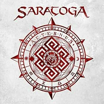"""SARATOGA -""""Aeternus""""  Digipack"""