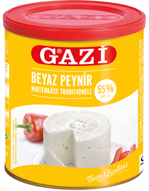 Gazi Weiss-Käse 55% 60% Fettig 500g