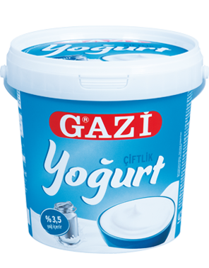 Gazi Gerührter Naturjoghurt (Çiftlik)