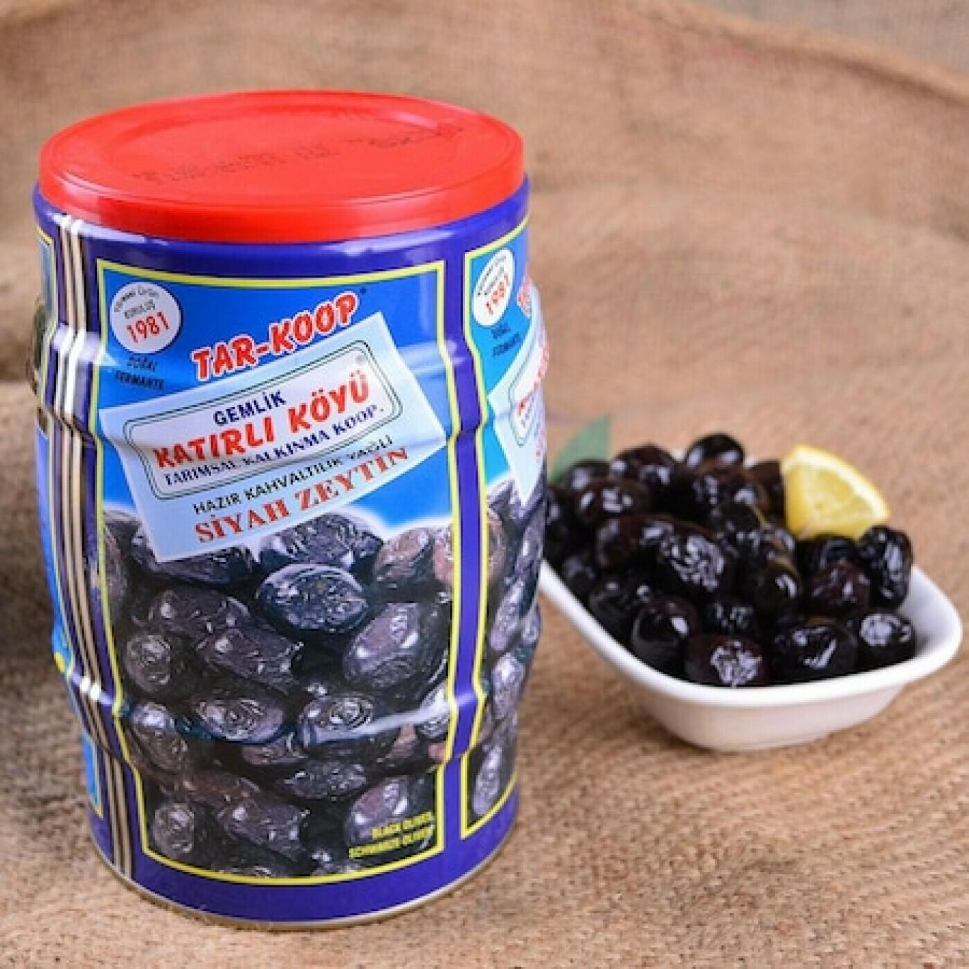 Gemlik Speziell Gourmet Tuerkische Schwarze Oliven-Katirli