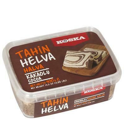 Halva Sesampaste mit Kakao-Koska