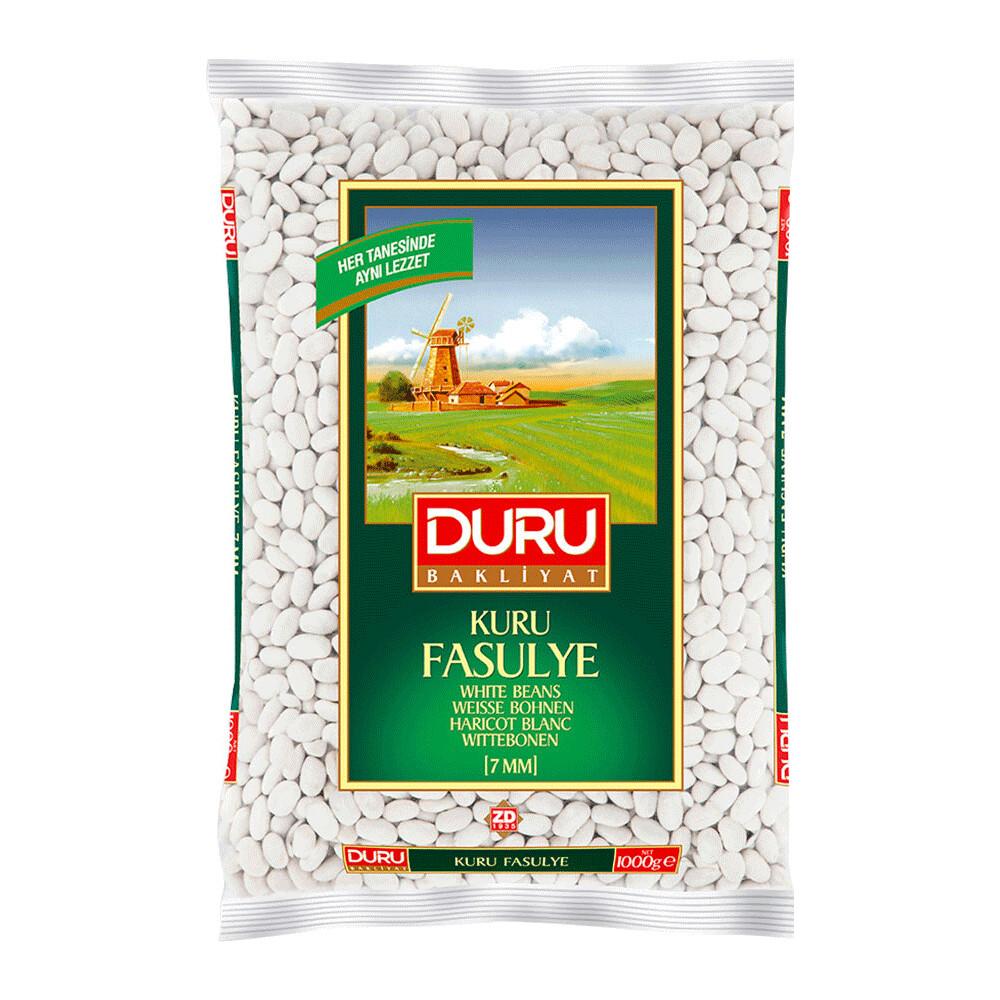 Turkische Weisse Bohnen (Fasulye) 1kg-duru-bashan