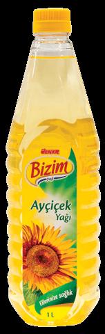 Tuerkisches Sonnenblumenöl- Uelker Bizim- 1 Ltr