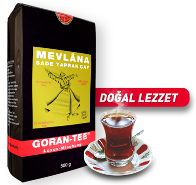 Goran Mevlana Cay Schwarz Tee