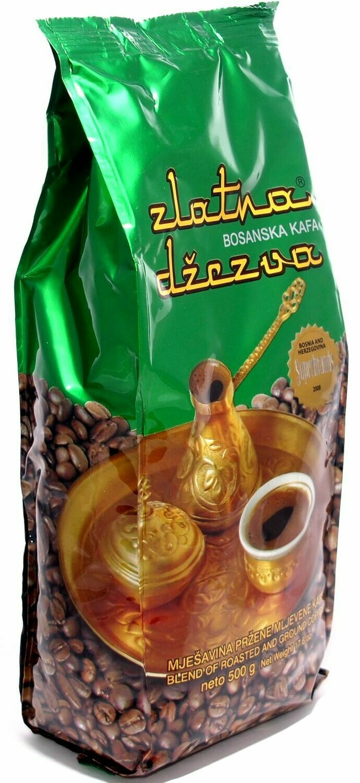 Zlatna Dzezva Bosanska Kaffee Kava mljevena gemahlen 500gr