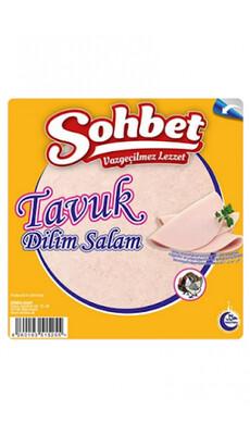 Tuerkische Salami Schnitte Wurstaufschnitt- Dilim Salam